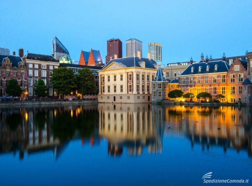 Città dell'Aia in Olanda
