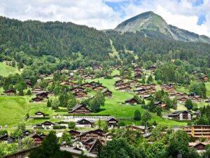 Spedizione di pacchi in villaggi remoti della Svizzera