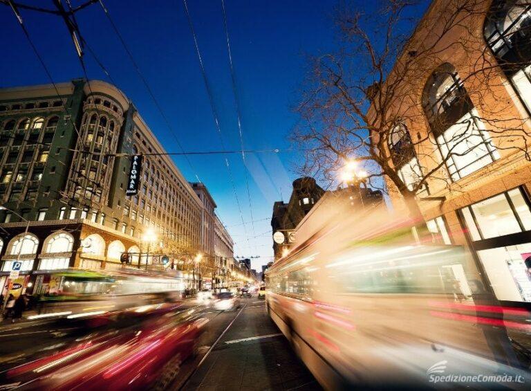 Spedire negli USA, via del centro di San Francisco