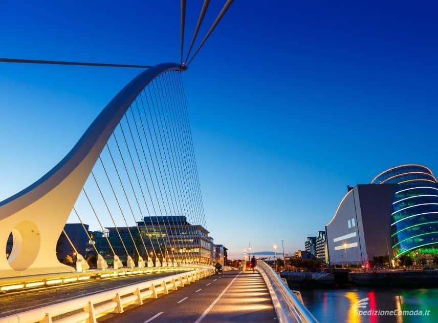 Ponte Samuel Beckett a Dublino