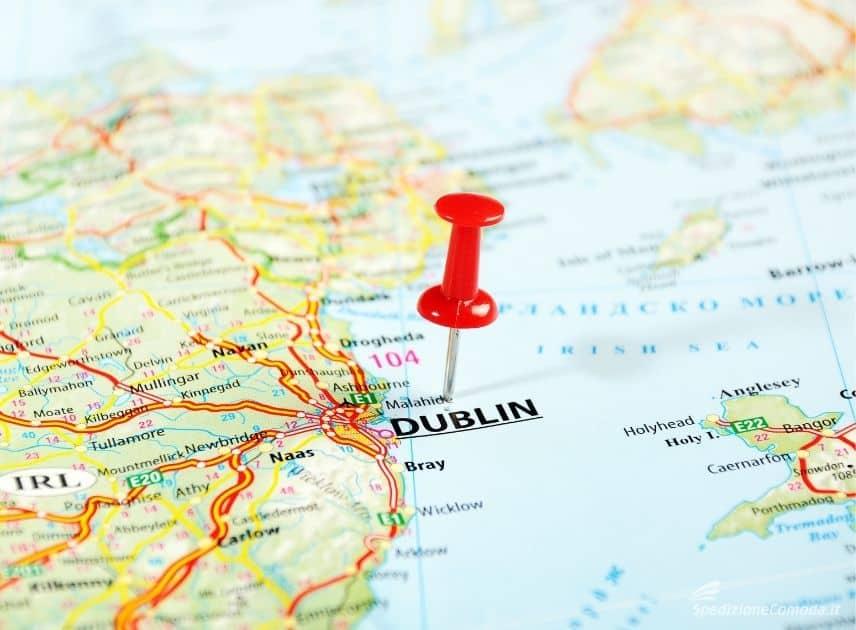 Dublino, capitale dell'Irlanda