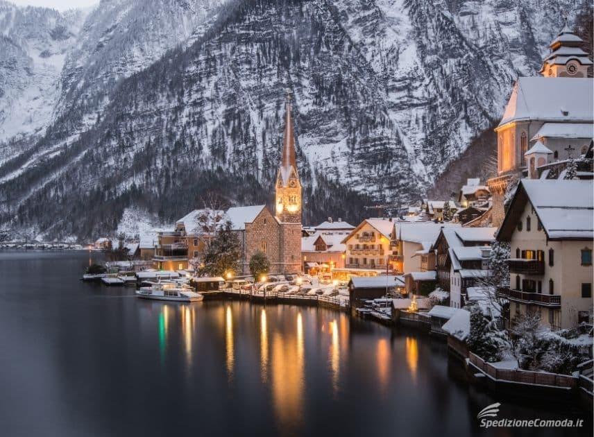 Il magico paese fiabesco dell'Austria: Hallstatt