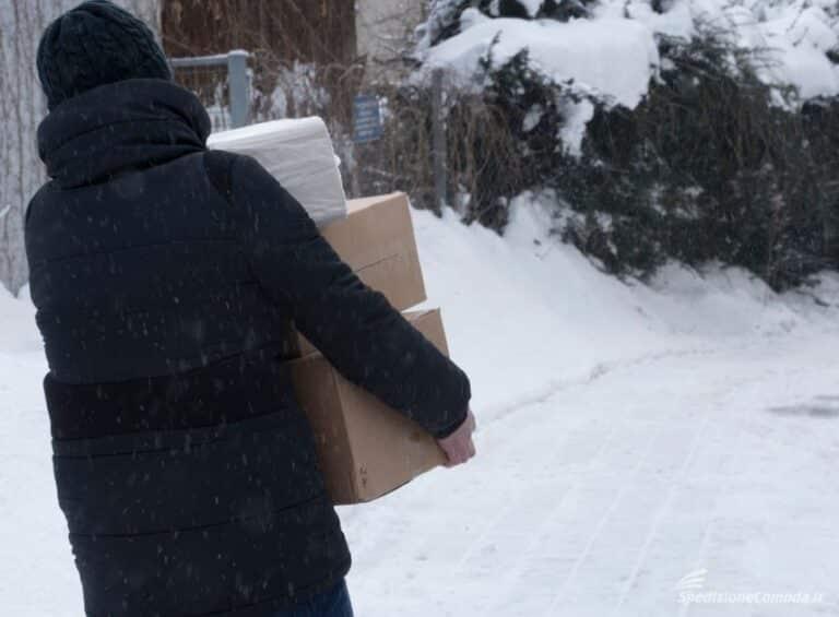Spedizione e consegna di pacchi in Austria