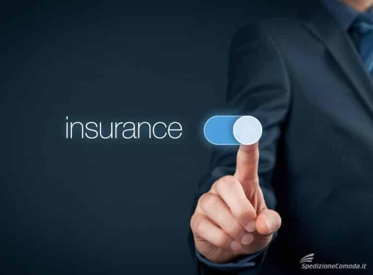 Assicurazione integrativa per le spedizioni con corriere espresso
